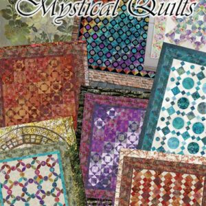 Quilting Patchwork Sewing Pattern Book MYSTICAL QUILTS by Jason Yenter New