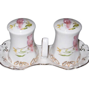 French Country Chic Collectable Salt and Pepper Set COCKATOO New Giftboxed