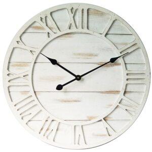 Clock Country Vintage Inspired Wall Clocks 60cm HAMPTONS CLOCK New