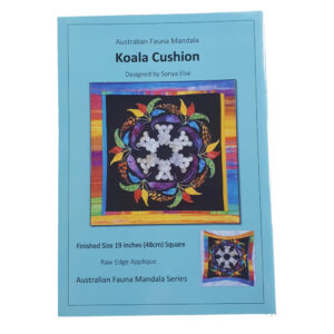 Quilting Sewing Australian Flora Mandala Cushion Pattern KOALA New