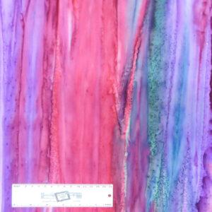 Patchwork Quilting Sewing Fabric BATIK PURPLE PINK GREY 50x55cm FQ New