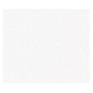 Cross Stitch ANTIQUE WHITE Aida Cloth 14ct Size 55x30cm New X Stitch Fabric