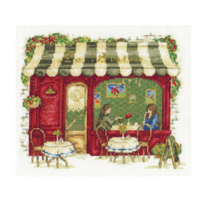 Cross Stitch Kit Counted DMC LE BISTRO X Stitch Kit Incl. Threads New BK1670