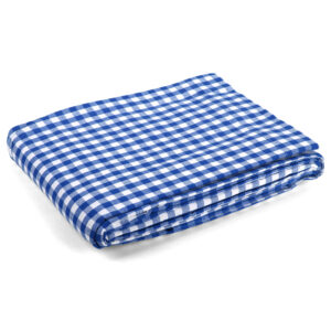 Country Kitchen Table Cloth BLUE GINGHAM Tablecloth 150x300cm