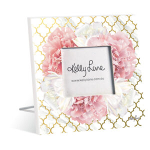 French Country Vintage Inspired Standing Photo Frame BLUSH CRUSH New