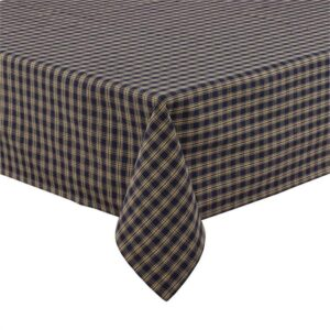 Country Style New Table Cloth STURBRIDGE NAVY Tablecloth 150X210cm New