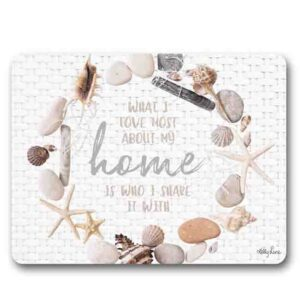 Kitchen Cork Backed Placemats AND Coasters STARFISH BEACH HOME Set 6 New