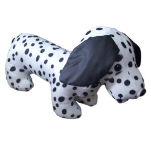 French Country Vintage Look Sitting Weighted DALMATION DOG DOORSTOPPER New Door Stopper