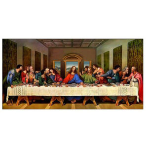 5D Diamond Painting Full Image Square Drills THE LAST SUPPER 20x40cm New