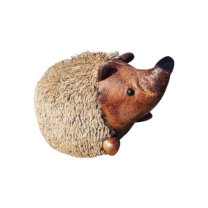 French Country Vintage Look Sitting Weighted HEDGEHOG DOORSTOPPER New Door Stopper