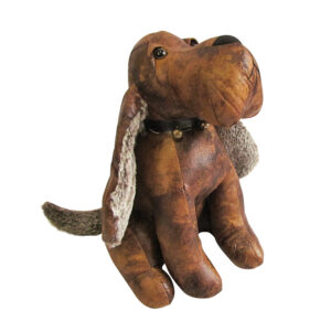 French Country Vintage Look Sitting Weighted PETER PUPPY DOG DOORSTOPPER New Door Stopper