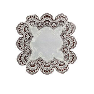 French Country Doiley VICTORIA Doily Lace Mat for Table or Duchess 35x35cm New