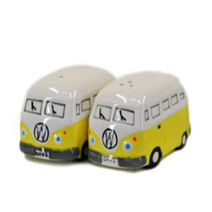 French Country Collectable Novelty Kitchen Kombi YELLOW Salt and Pepper Set New