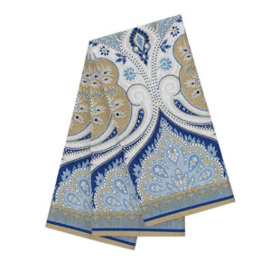 Country Vintage look New Tea Towels Cotton AZURITE set 3 Dish Cloths New