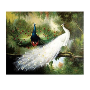 5D Diamond Painting Full Image Square Drills PEACOCKS 30x40cm New