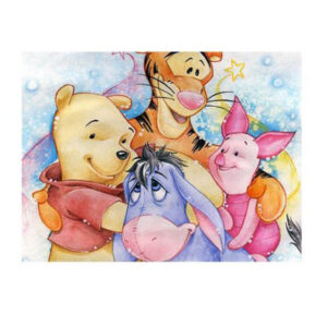 5D Diamond Painting Full Image Square Drills WINNIE THE POOH 20x25cm New