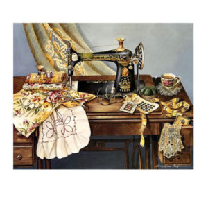 5D Diamond Painting Full Image Square Drills SINGER SEWING MACHINE 30x40cm New