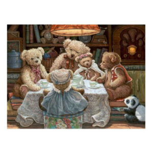 5D Diamond Painting Full Image Square Drills TEDDY BEAR FAMILY 30x40cm New