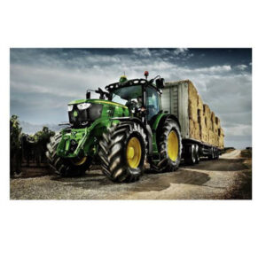 5D Diamond Painting Full Image Square Drills TRACTOR AND HAY 30x53cm New