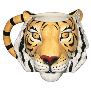 French Country Chic Kitchen Coffee Mug TIGER HEAD Novelty China New