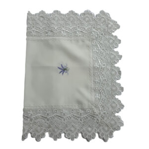 French Country Doiley LAVENDER and LACE Doily Table Runner 40x60cm New