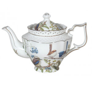 French Country Lovely Kitchen Teapot AUSSIE BIRDS China Tea Pot with Giftbox New
