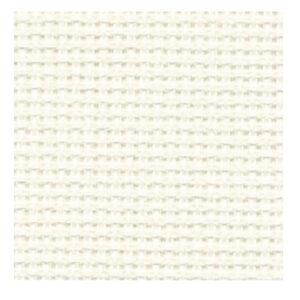 Cross Stitch ECRU CREAM Aida Cloth 14ct Size 55x30cm New X Stitch Fabric