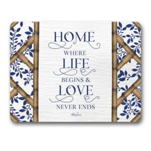 Kitchen Cork Backed Placemats AND Coasters CHIPPENDALE LOVE Set 6 New