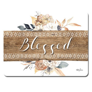 Kitchen Cork Backed Placemats AND Coasters BARN OWL BLESSED Set 6 New
