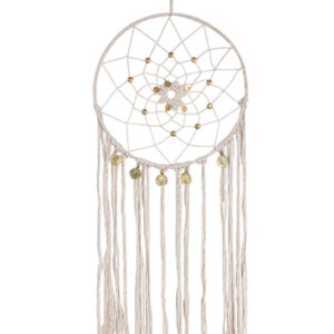 French Country Vintage Inspired Boho White Dream Catcher New