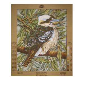 DMC Tapestry Printed KOOKABURRA Australian Bird Design New GLO.01