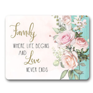 Kitchen Cork Backed Placemats AND Coasters ENGLISH ROSE FAMILY Set 6 New