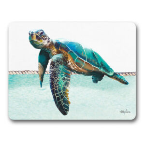 Kitchen Cork Backed Placemats AND Coasters SEA TURTLE ELLIOT Set 6 New