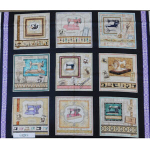 Patchwork Quilting Sewing Fabric TAILOR MADE Panel 90x110cm Material New