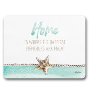 Kitchen Cork Backed Placemats AND Coasters STARFISH HOME Set 6 New