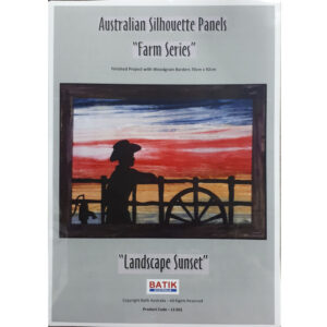 Quilting Sewing Quilt Pattern LANDSCAPE SUNSET COWBOY Patchwork Pattern Batiks New