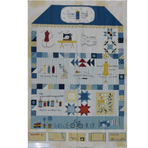 Patchwork Quilting Sewing Fabric THE SEWING HOUSE Panel 75x110cm New Material