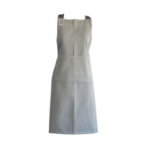 Country Kitchen Cooking HERRINGBONE Apron TAUPE/CHARCOAL Adult Size New