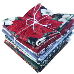 Quilting Patchwork Sewing Fat Quarter Pack of 13 CHRISTMAS Material New
