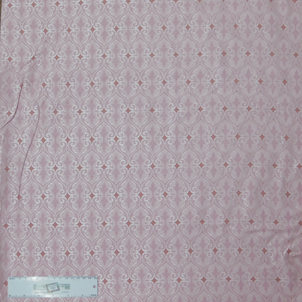 Patchwork Quilting Sewing Fabric Black with Pink Glitter Spots 50x55cm FQ New