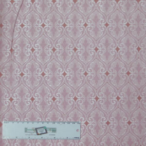 Quilting Patchwork Sewing Fabric TOTALLY TULIPS PINK SHIMMER 50x55cm FQ New
