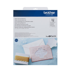 Brother PAPER PIERCING STARTER KIT for DX Scan N Cut New