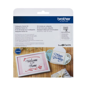 Brother CALLIGRAPHY STARTER KIT for DX Machines Scan N Cut New