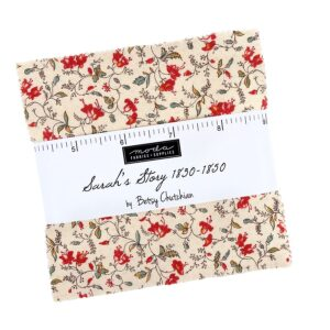 Quilting Charm Pack Patchwork MODA SARAHS STORY 5 Inch Fabrics New