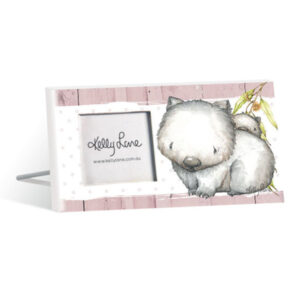 French Country Vintage Inspired Photo Frame BABY JOEY Wombat 10x20cm New