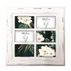 French Country Photo Frame Wooden BOHO LUXE Multi Photo Frames New