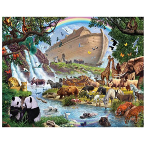 5D Diamond Painting Full Image Square Drills NOAHS ARK 70x50cm