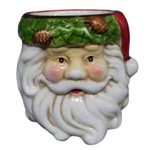 Christmas Santa Claus Utensils Holder Ceramic Kitchen New