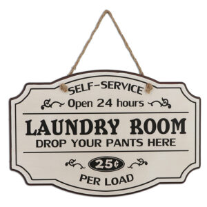 Country Wooden Farmhouse Sign LAUNDRY ROOM Large Plaque New