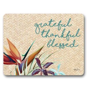 Kitchen Cork Backed Placemats AND Coasters PARADISE Set 6 New